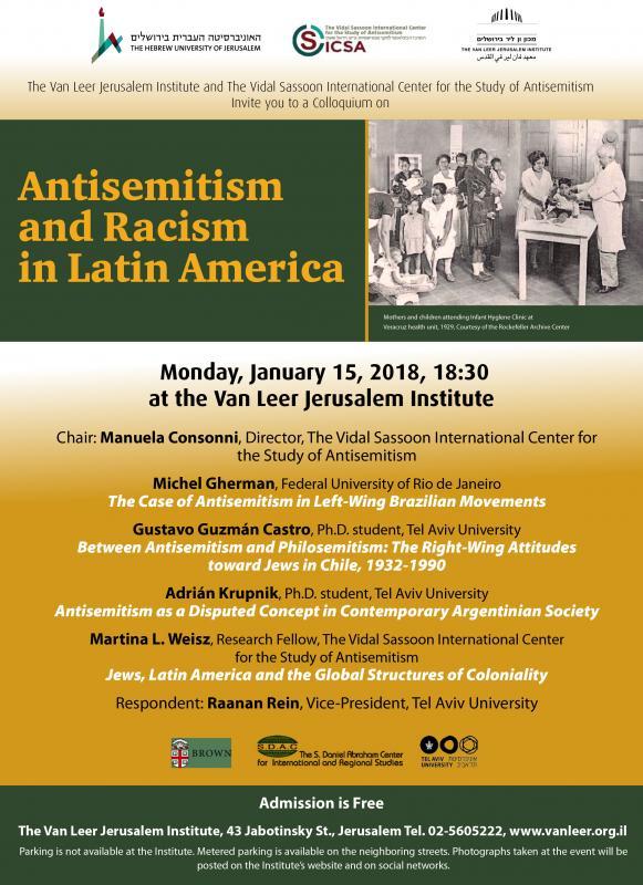 Antisemitism and Racism in Latin America