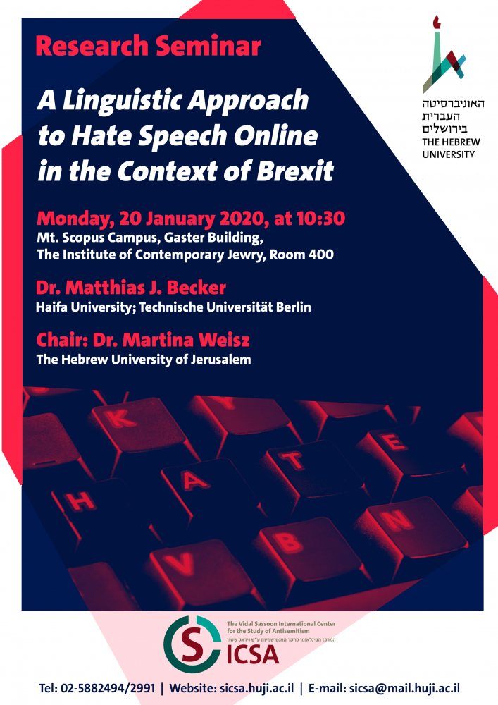 a_lingustic_approach_to_hate_speech_online