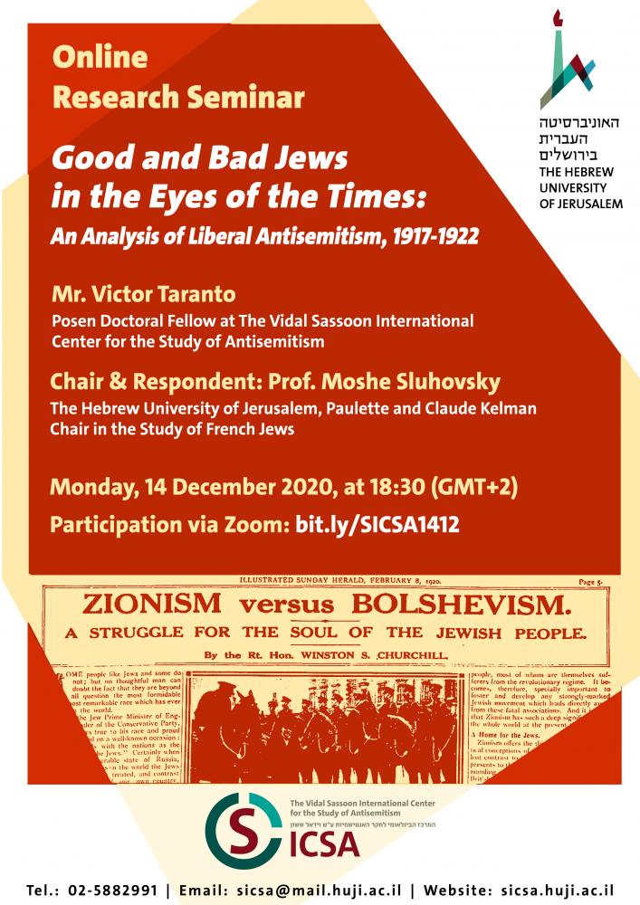 Good and Bad Jews
