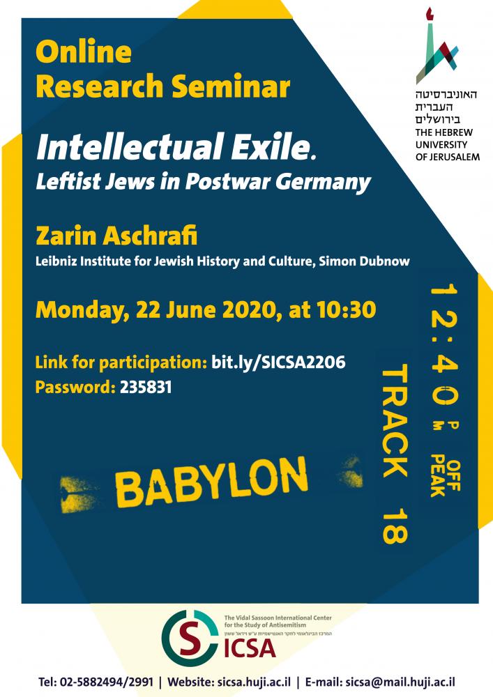 Intellectual Exile