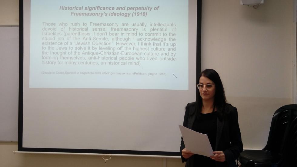 Research Seminar- Dr. Sara Airoldi