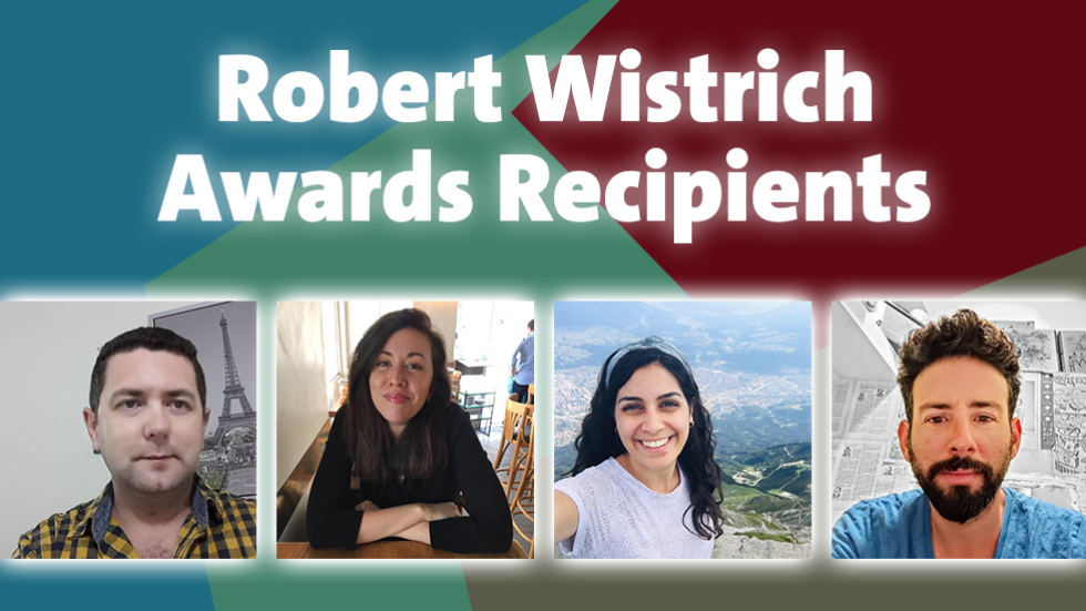 Wistrich Awards Winners
